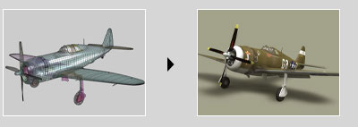 Tutorial - Modeling, texturing and rigging a Republic P47 Airplane Tut_3